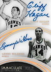 HAGAN  WILKINS / Dual Auto - No. 59  (#d 34/49)