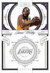 JAMES WORTHY / Gold Version - No. 154  (#d 8/10)