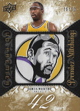JAMES WORTHY / Premier Stichings - No. PS-JW  (#d 25/50)