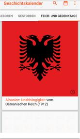 "Bild: App ""Geschichtskalender"""