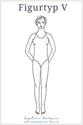 Figur-Typ V - die Athletische