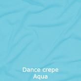 joustava kangas lycra dance crepe aqua