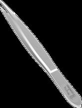 TopInox Pinzette spitz mit polierter Spitze