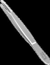 TopInox Pinzette gerade mit polierter Spitze