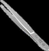 пинцет линейки Inox , прямые края
