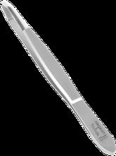 TopInox Pinzette gebogen mit polierter Spitze