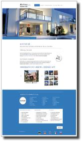Bild mit Referenz für Umsetzung Website Internetseite und Verlinkung zu Kunden https://www.martinezimmobilien.com.