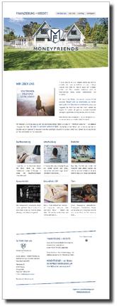 Bild mit Referenz für Umsetzung Website Internetseite und Verlinkung zu Kunden https://www.moneyfriends.de.
