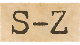 MusicManiac Alben S-Z