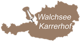 Lage Karrerhof Walchsee TIROL