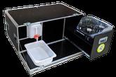 """iQ-Chuckbox """"Bus"""" mit faltbaren Windschutz, Kocher, 10 Liter Wasserkanister, Wasserauffangschale, Auslaufhahn"""