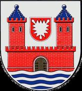 Fehmarn - Wappen Stadt Burg a.Fehmarn