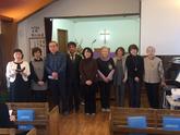 2017/04/09  教会学校           リーダー・書記任職式