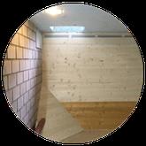 Holzpellets Lager bauen