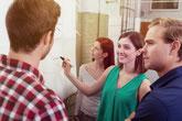 La conduite de projet obeya rassemble l'équipe autour d'u visuel.