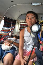 Diego y Fede, camino a Ñuro