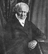 Humboldt Portrait von Hermann Biow (1804-1850)