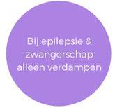 Contra indicatie voor het gebruik van lavendel olie tijdens zwangerschap of epilepsie