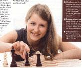 Bericht in der KDFB Engagiert über Schachspielerin Melanie Lubbe (Ohme)