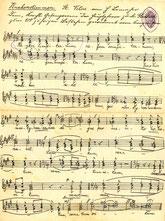 Noten der Vitushymne