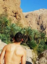 Wadi Shab, Muscat, Oman