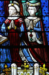 Louis de Bourbon.Par User:Rama — http://upload.wikimedia.org/wikipedia/commons/e/e1/Chartres_cathedral_2875.jpg, CC BY-SA 3.0 cz, https://commons.wikimedia.org/w/index.php?curid=8380408