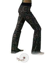 Yogahose Schlaghose Stretchhose Hippiehose