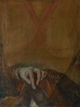 Maria Cornelia Schneider-Marfels: Selbstportrait nach Albrecht Dürer
