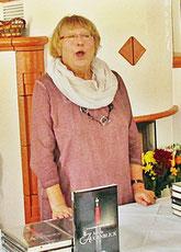 Bei der Preisverleihung zum Literaturpreis. Foto: A. Engelmann