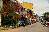 Straße von Kampot