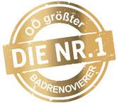 OÖ Größter Badrenovierer - DIE NR. 1