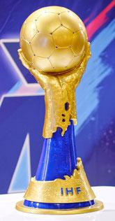 Der Handball WM Pokal