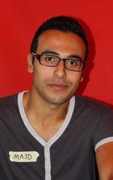 Majd Shuqer aus Syrien