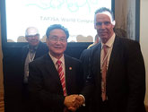 Prof. Ju-Ho Chang & Chris Hemstock (Chairman des WMAGC)