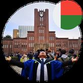 Mr. Ramahaimandimby Sandratra Zoniaina PhD Student in Japan from Madagascar