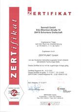 Zertifikat 2018