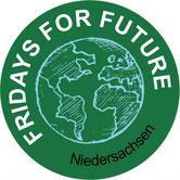 Fridays for Future FfF Niedersachsen Klimastreik Avatar Logo #KlimastreikNiedersachsen #Klimastreik #Schulstreik #Schulschwaenzen Schulschwänzen Schulstreik