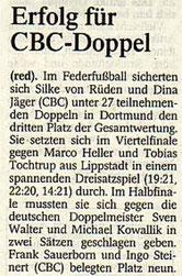 Westdeutsche Zeitung Bericht vom 03.02.2004