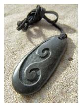 Original Touchstones Steinschnitzerei Maori Neuseeland