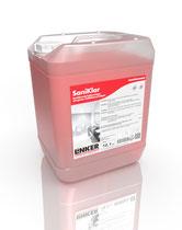 Sanitär-Klar_Linker Chemie-Group, Reinigungschemie, Reinigungsmittel, Sanitärreiniger, Bäderreiniger, Putzmittel, Toilettenputzmittel, Reinigung Bad