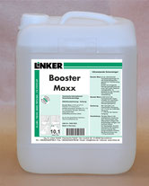 Booster Maxx_Linker Chemie-Group, Reinigungschemie, Reinigungsmittel, Feinsteinzeug, Feinsteinzeugreiniger