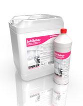 Inhibitor-Sanitär_Linker Chemie-Group, Reinigungschemie, Reinigungsmittel, Sanitärreiniger, Bäderreiniger, Putzmittel, Toilettenputzmittel, Reinigung Bad