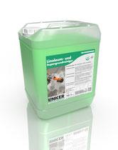 Linoleum und Supergrundreiniger_Linker Chemie-Group, Reinigungschemie, Reinigungsmittel, Grundreiniger