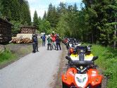 Quad Tour abseits auf Alpstrassen im Berner Oberland