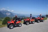 Quadtour im Berner Oberland