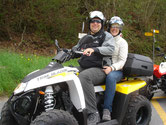 Take a passenger on the ATV tour