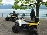 Quad Tour zum See im Berner Oberland