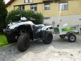 Quad Verkauf in Interlaken