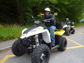 Join the ATV tour alone