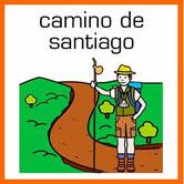 Acceso directo a todas las etapas del Camino de Santiago